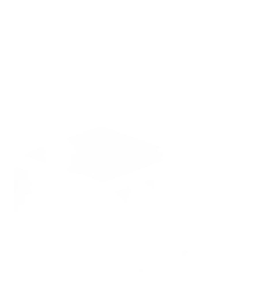 white illustrated arrow